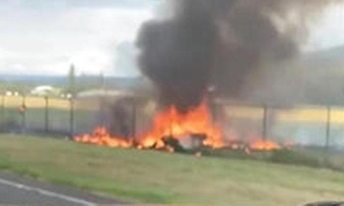 เครื่องบินทัวร์ดิ่งพสุธาเกาะฮาวาย ร่วงตกไฟลุกท่วม เสียชีวิตยกลำ 11 ศพ
